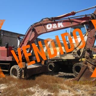 Excavadora O&K segunda mano