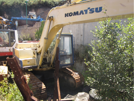 maquina excavadora komatsu segunda mano